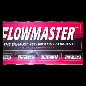 Flowmaster Car Stickers